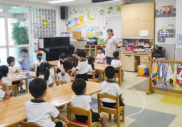 個性豊かな教室